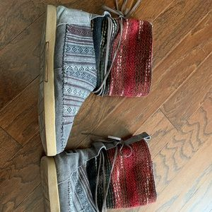 Toms knit winter boots